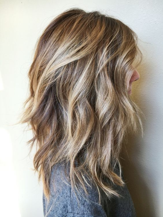Chic Everyday Hairstyles for Shoulder Length Hair 2019