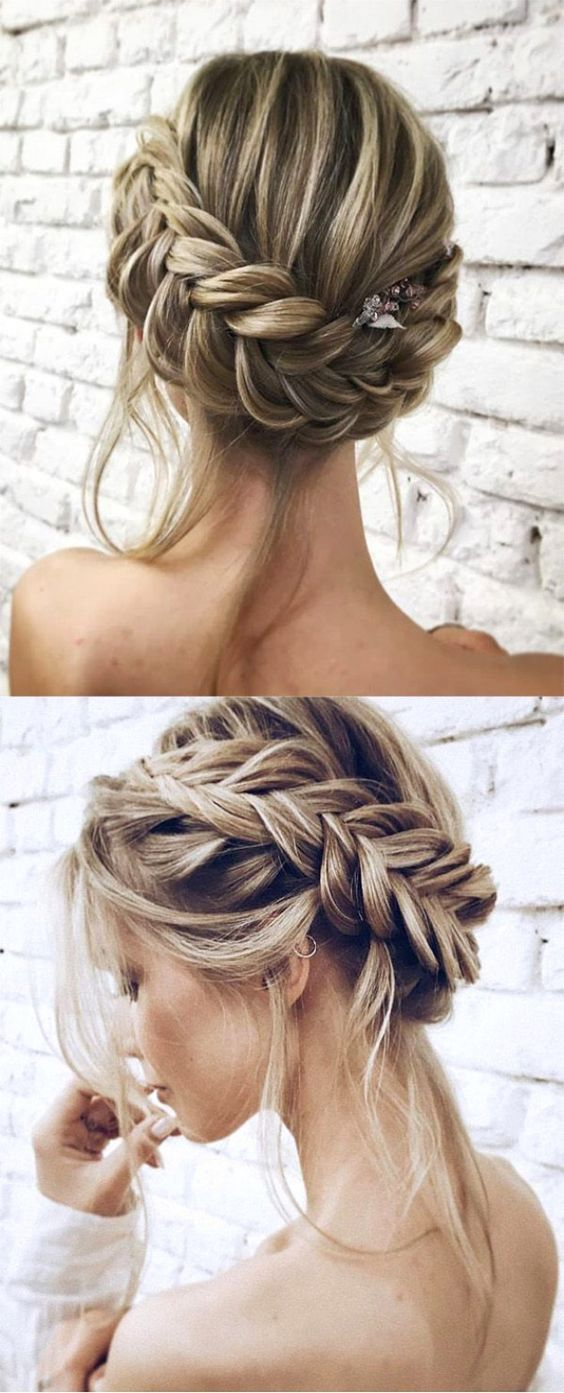 Chic Updo Wedding Hairstyles for All Brides