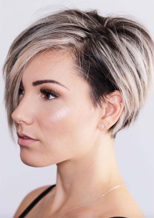 Edgy and Rad Short Undercut Hairstyles