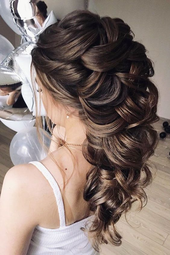 Elegant Wedding Hairstyles For Gentle Brides