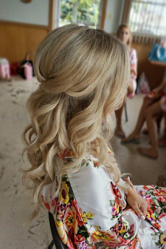 Favorite Half-Up Hairstyles for Bridesmaids