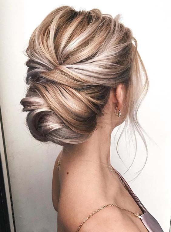 Gorgeous Knotted Blonde Updos for Women 2019