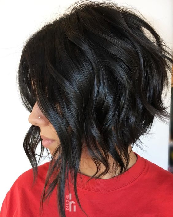 Most Delightful Short Wavy Hairstyles