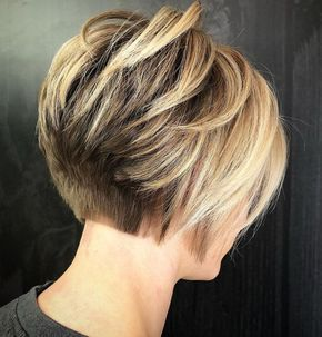 Short Layered Hairstyles For Fine Hair 2019