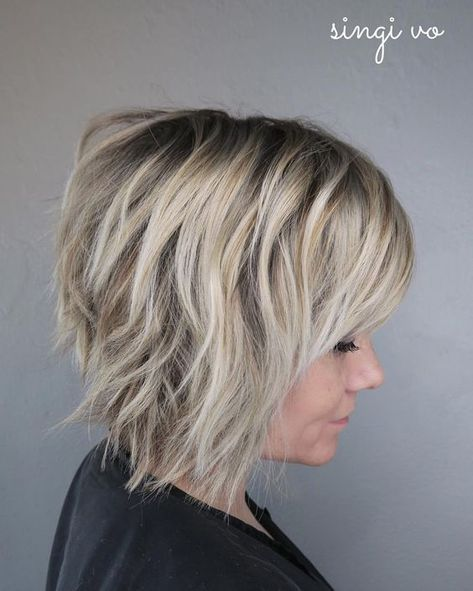 Short Shag Hairstyles for Women 2019