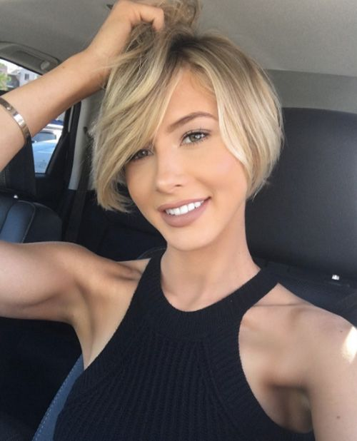 Short Summer Haircuts for Women With Fine Hair