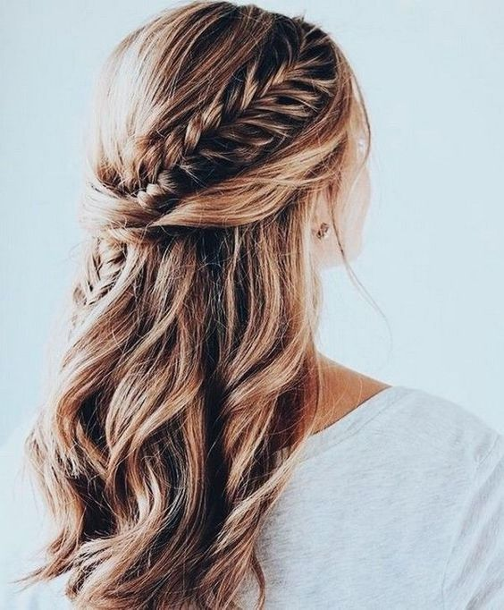 Top Half Up Half Down Wedding Hairstyles