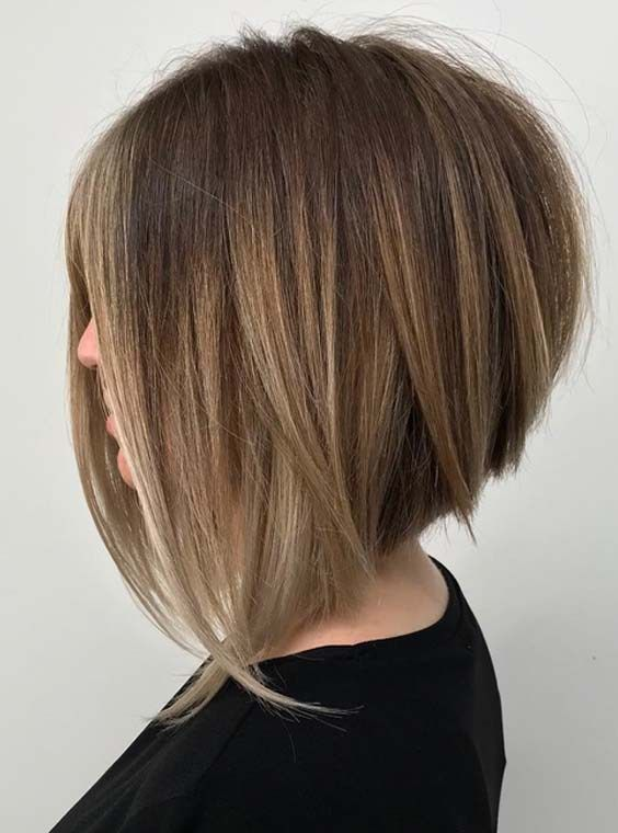 Trendy Stacked Bob Haircuts