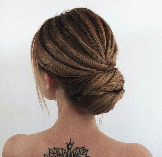 Updo hairstyle - wedding hairstyle