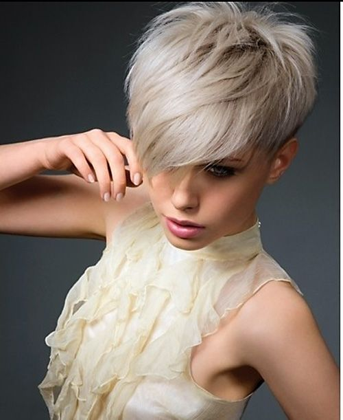 Very Short Haircuts with Bangs for Women