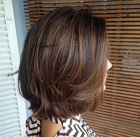 Beautiful Short Layered Hairstyles