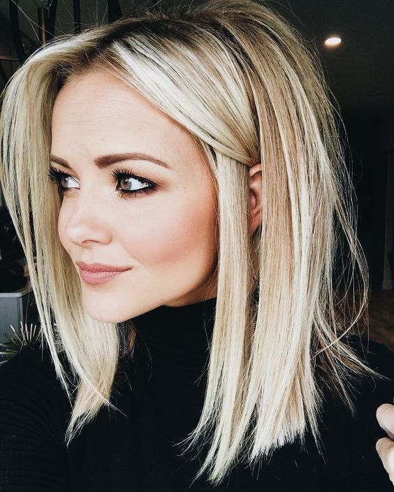Unique Shoulder Length Medium Length Hairstyles 2019 Page