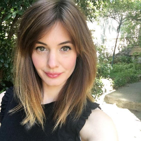 Cute Shoulder Length Layered Hair
