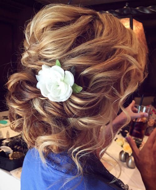 Most Beautiful Updos for Medium Length Hair in 2019