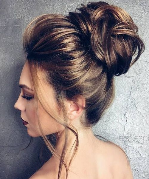 Romantic Updo Ideas