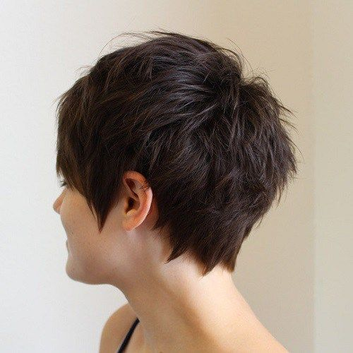 Short Choppy Haircuts