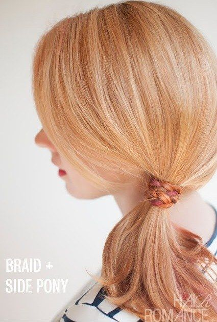 Simple Styles for Long Hair