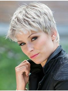 Synthetic Grey Wigs