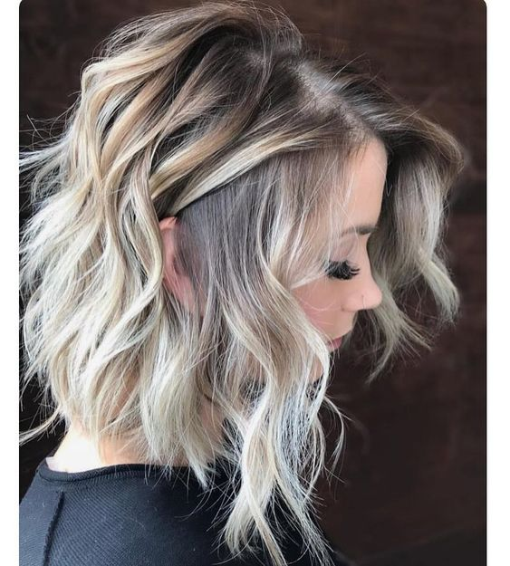 Wavy Shoulder Length Hairstyles 2019