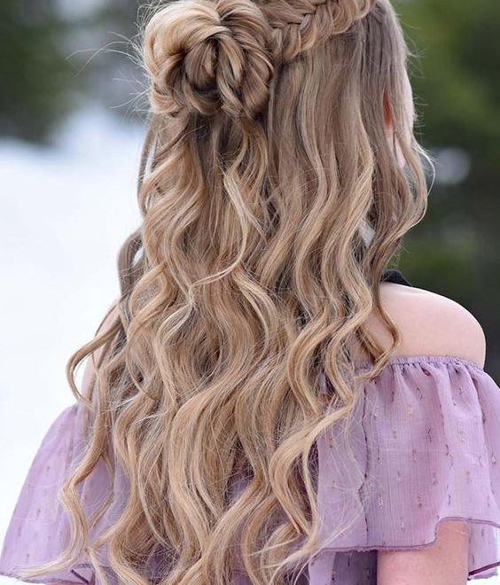 Wedding Hairstyles Half Up Half Down 2019
