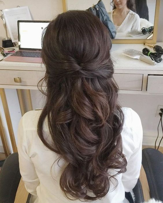 4Gorgeous Half Up Half Down Hairstyles