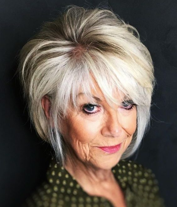 Older Women Pixie Haircuts For Women Over 50 3