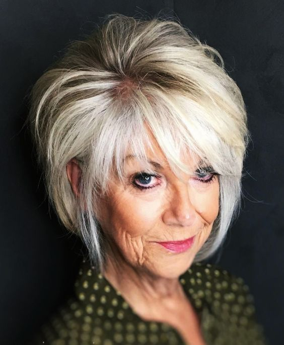 Anti-Aging Short Hairstyles for Older Women