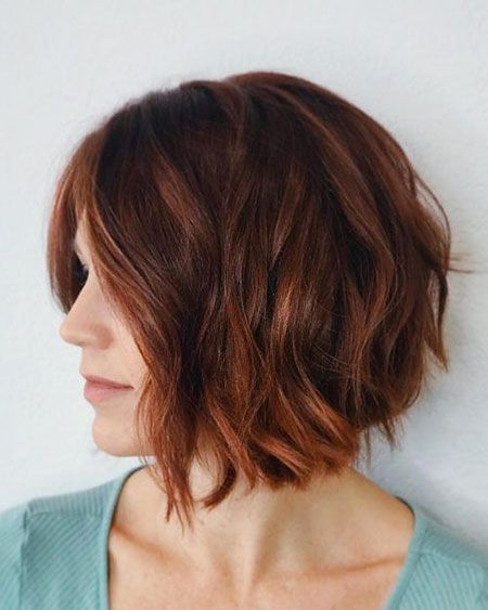 Auburn Hair Color for Short Hair
