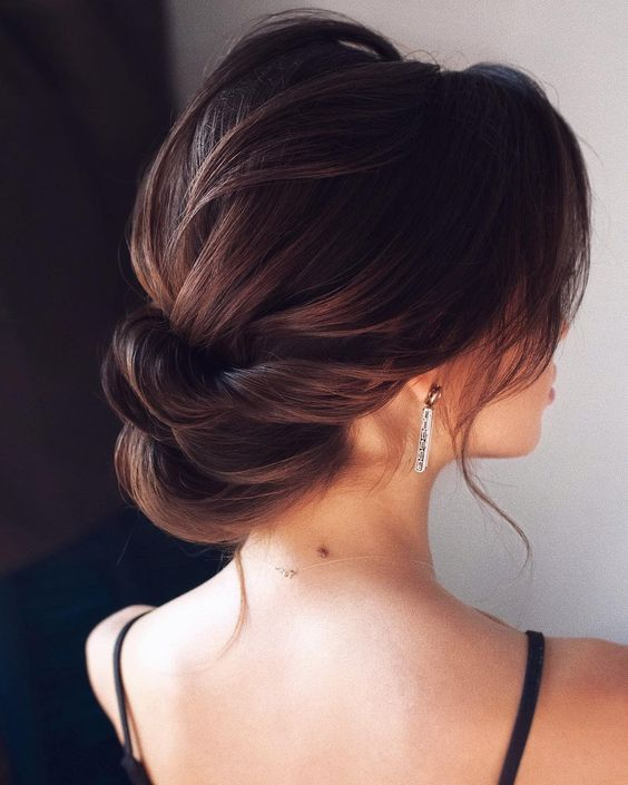 Fantastic Textured Updo Hairstyles Ideas For 2019