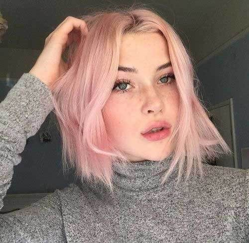 21 Cool Short Pink Hairstyles For Glamorous Look - Page 6 of ...