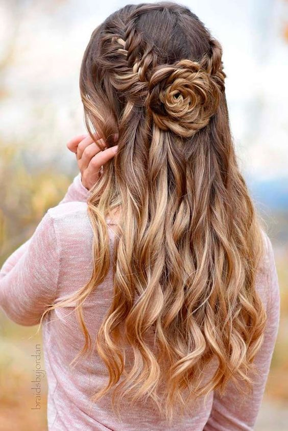 Stunning Prom Hairstyles for Long Hair for 2019