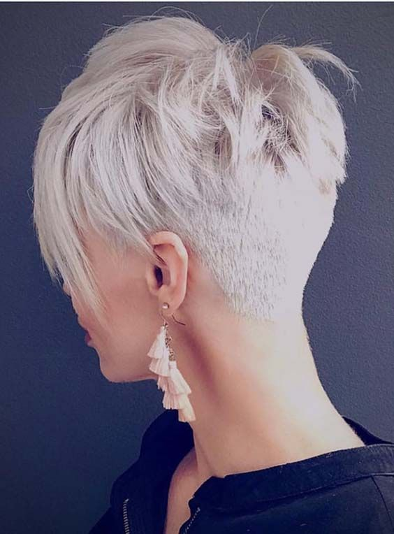 Superb Undercut Short Pixie Haircuts