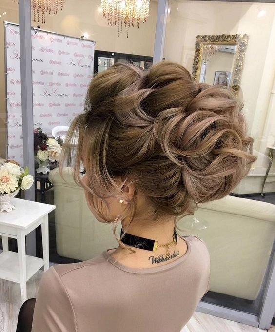Updo hairstyle You Can Wear Anywhere