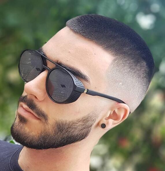cool mens haircut