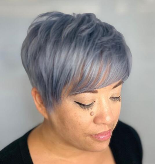 39 Most Coolest Short Grey Haircuts We Love Page 8 Of 39