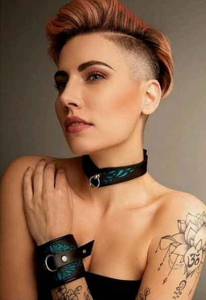 girls with short hair 2