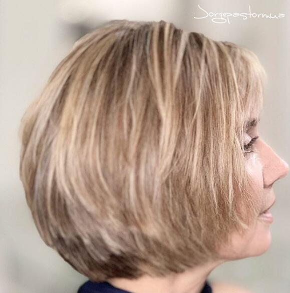 layered bobhair cut