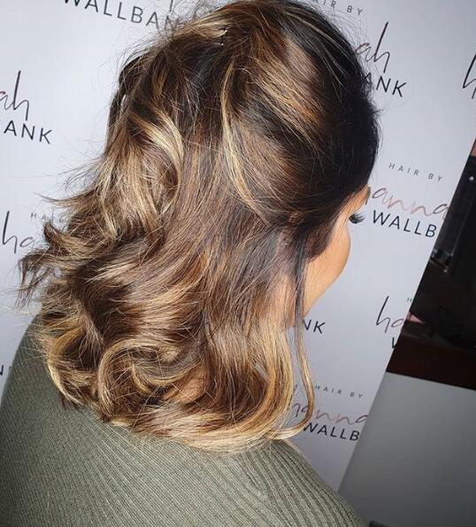 Relaxed party hair