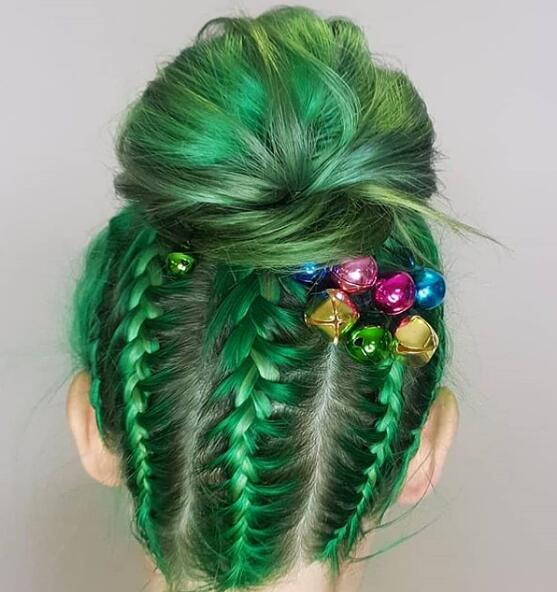 christmas hairstyle 2020