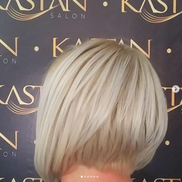 platinum hairstyle