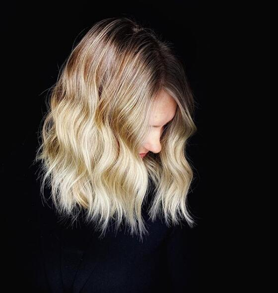 ROOTED WINTER BLONDE