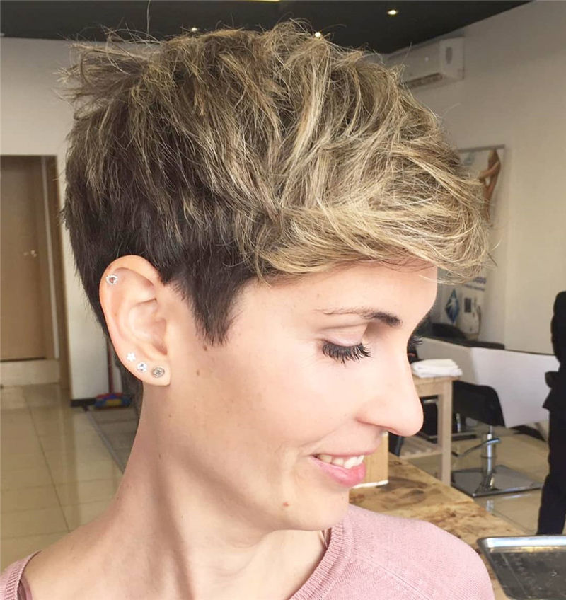 Cool Pixie Cuts that You Will Adore in 2020-05