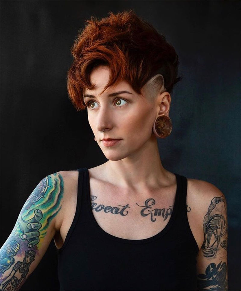 Cool Pixie Cuts that You Will Adore in 2020-32