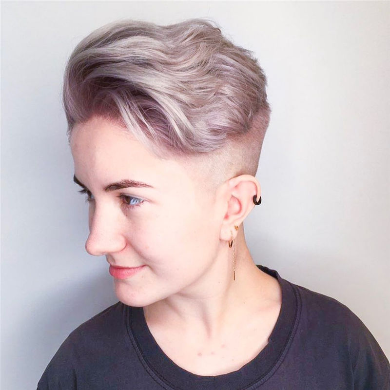 Cool Pixie Cuts that You Will Adore in 2020-44