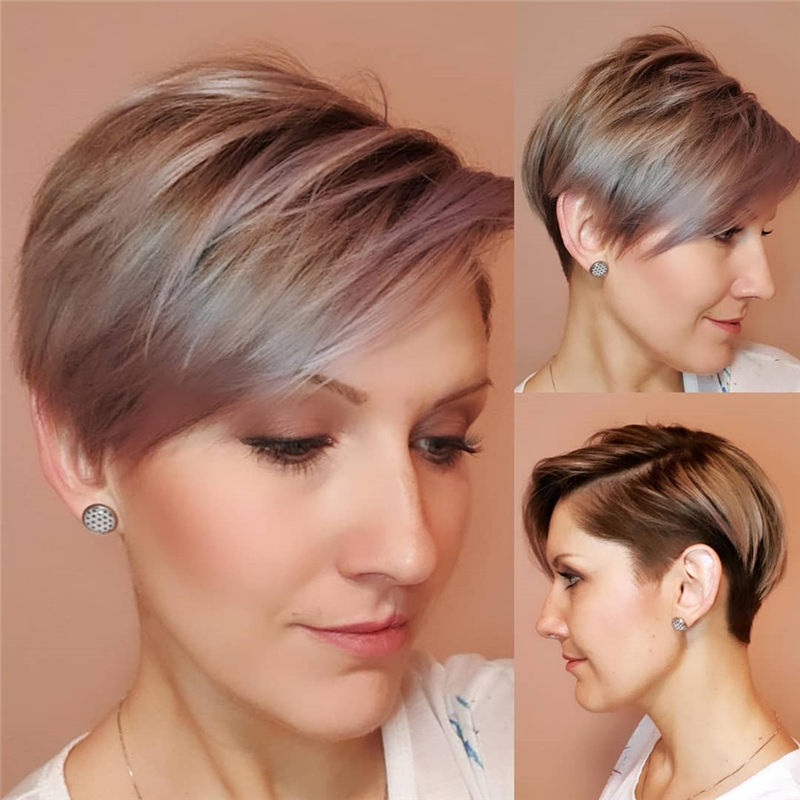 Cool Short Haircuts for Your New Look in 2020-26