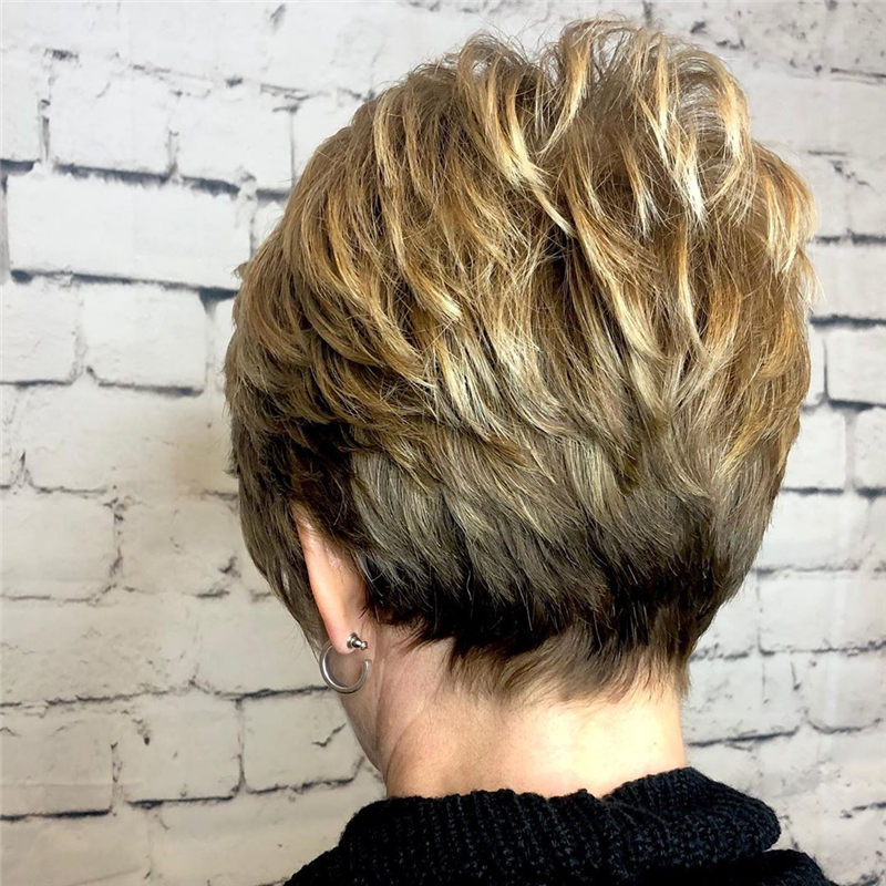 Cool Short Haircuts for Your New Look in 2020-35