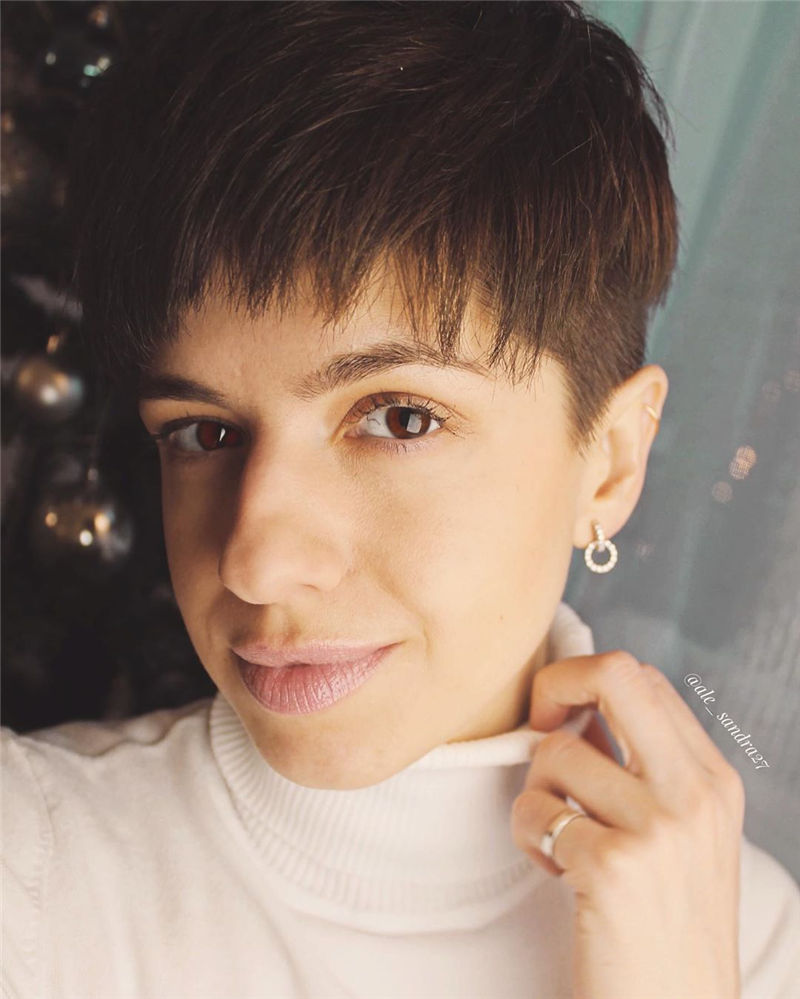 Coolest Short Pixie Cut Hairstyles You May Like 2020-02