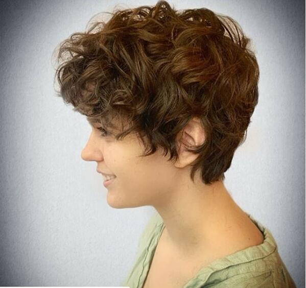 Curly Headed Pixie