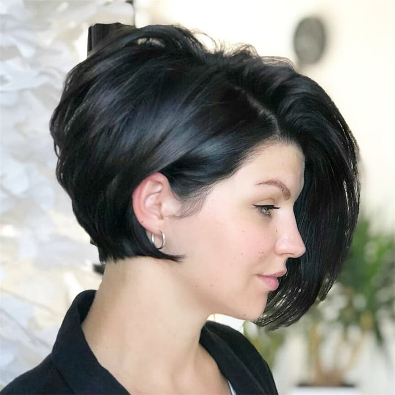 Gorgeous Short Haircuts to Light You Up in 2020-28