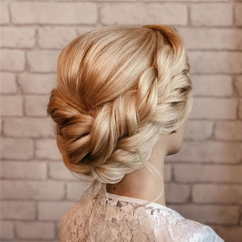 Lovely Wedding Hairstyles You'll Love for 2020-08